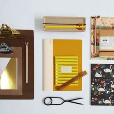 Stationary addicts should visit our website! Nomess sciccors, hightide notebook, penco clipboards and many more.