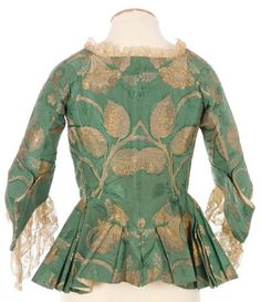 JAcket, mid 18th century: Fripperies and Fobs
