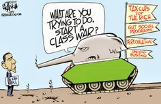 Amazing how the GOP thinks they are attacking Obama, when in fact the GOP is actually attacking Middle Class America.  We are the ones who elected him to be our President.  MOST OF US GET THAT GOP BULLIES IN CONGRESS ARE JUST OBSTINATELY REFUSING TO HEAR OUR VOICES ~ guess they can't get their heads out of their proverbial war-mongering tanks.