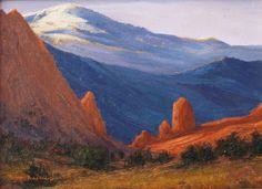 SOLD I Colorado Garden I 6x8 I Dix Baines I Fine Artist Original Oil Paintings I Mountains I www.dixbaines.com