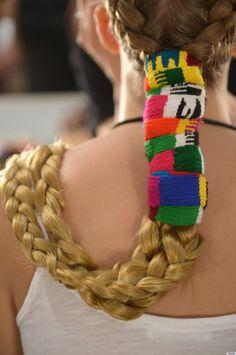 2 braids...beautiful