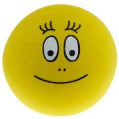 Barbabee bal (geel) #Barbapapa #barbabee #bal #voetbal #ballen