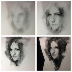Casey Baugh progression