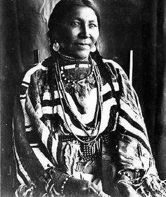 Naomi Little Walker - Blackfoot - circa 1896