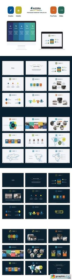 Artsy magazine powerpoint template from hotfileindex agora powerpoint template toneelgroepblik Image collections
