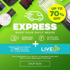 Express Delivery Up to 70 % Special Promotion, Delivery
