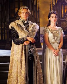 King Francis and Queen Mary