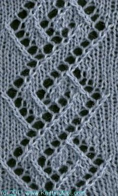 Knitting Lace Patterns Tips : 1000+ images about Knitting - tips, tutorials and pattern ...
