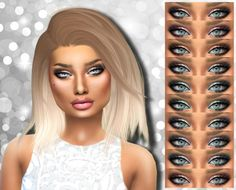 Alaina Vesna: Kalyna eyeshadow • Sims 4 Downloads