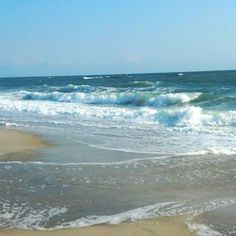 Beach in Nags Head this morning. #OuterBanks #OBX