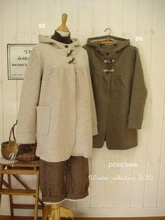 Superdimitri Japanese Outfits, Fur Coat, Sweaters, Jackets, Dresses, Fashion, Bebe, Kleding, Down Jackets