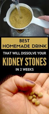 Best Homemade Drink that will Dissolve your Kidney Stones in 2 Weeks