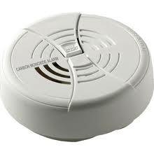 BRK CO250B Carbon Monoxide Alarm with Silence Button