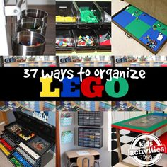 37 Ways to Organize LEGO