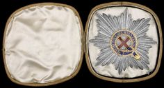 Order of the Garter, large Georgian breast star, x circa in box. British Crown Jewels, Order Of The Garter, Chivalry, Prince Of Wales, British Royals, Georgian, Christianity, Breast, Military