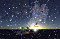 The Sun rises in Libra Saturn in Virgo 11/4/12 6:36 AM