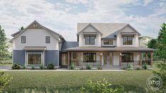 American Farmhouse, Modern Farmhouse Plans, Farmhouse Style Homes, Farmhouse Ideas, Thing 1, Just Dream, Dream Big, Best House Plans, Walk In Pantry