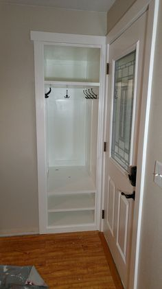 Image result for tiny coat closet dimensions