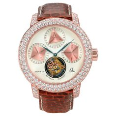 Official Jacob & Co Website » Swiss Luxury Watches » Fine Jewelry >> Jacob & Co Swiss Made Tourbillon Watch