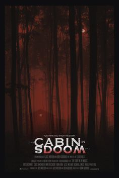 The Cabin In The Woods - 12x18 - Movie Poster - by Duke Dastardly