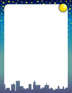 Free moon and stars border templates including printable border paper and clip art versions. File formats include GIF, JPG, PDF, and PNG. Paper Journal, Journal Cards, Page Borders Free, Printable Border, Free Printable, Sleepover Invitations, Stationary Printable, Border Templates, Boarders And Frames