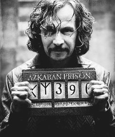 Gary Oldman as Sirius Black in 'Harry Potter and the Prisoner of Azkaban', 2004.