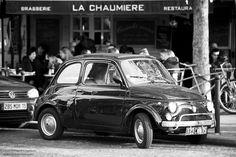 Fiat 500 in paris. #fiat500