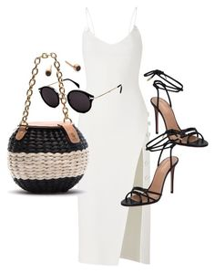 """Untitled #23735"" by florencia95 ❤ liked on Polyvore featuring Aquazzura, David Koma, CÉLINE and ZoÃ« Chicco"