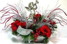 Magnificent Christmas Centerpieces On Decor With Some A Collection Of Beautiful Examples Of Christmas Table Centerpiece Ideas