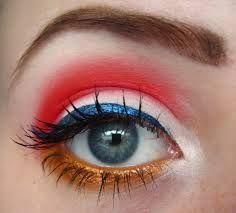 Rood  witblauw