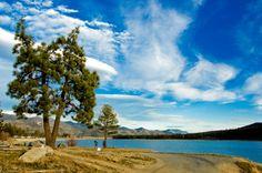 Lake Hemet, CA - I remember Jackson fishing at 3 years old in this exact spot
