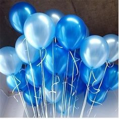 Buy Latex Balloon Air Balls Inflatable Wedding Party Decoration Birthday Kid Party Float Balloons at Wish - Shopping Made Fun Glitter Ballons, White Balloons, Helium Balloons, Latex Balloons, 30th Balloons, Purple Balloons, Bridal Decorations, Balloon Decorations Party, Wedding Ideas