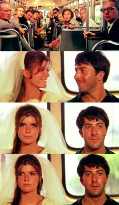 The Graduate, 1967 (dir. Mike Nichols). Loved watching this for a film class.