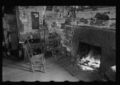 Title: Interior of mountain farmhouse, Appalachian Mountains near Marshall, North Carolina Creator(s): Mydans, Carl, photographer Related Names: United States. Resettlement Administration. Date Created/Published: 1936 Mar.