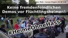 stop racism!!!  NoPegida!!! BuntesDeutschland!