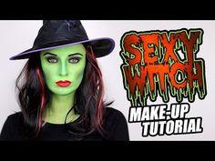 Sexy strega verde per Halloween - VideoTrucco