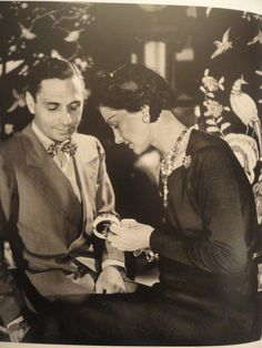 Coco Chanel & Fulco di Verdura #CocoChanel Visit espritdegabrielle.com   L'héritage de Coco Chanel #espritdegabrielle
