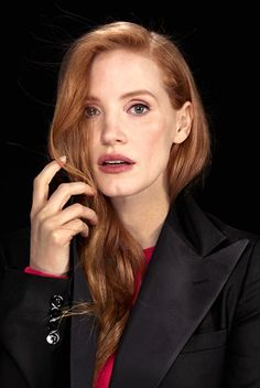"jessicachastainsource: ""Jessica Chastain photographed by Kirk McKoy for Los Angeles Times """