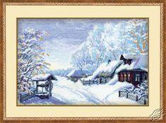 Winter Landscape - Cross Stitch Kits by RIOLIS - 989