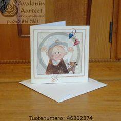 Minna Immonen baby card / Minna Immosen vauvakortti Baby Cards, Frame, Illustration, Artist, Decor, Decorating, Illustrations, Artists, Inredning