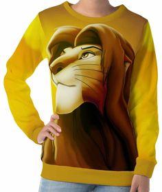 Scar Sweatshirt Face Simba Villain Lion Jumper King Retro Princess Drugs Top