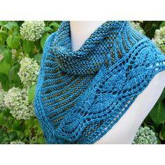 Robin Hill Shawl Knitting pattern by Judy Marples | Knitting Patterns | LoveKnitting