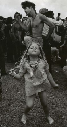 grooving  Love this picture from Woodstock!