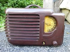 Rare Vintage 1940 Farnsworth AT-12 Tube Radio Parts Repair