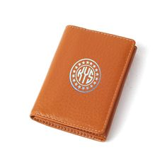 Soft Leather Business Card Holder - Brown from mozzin by DaWanda.com