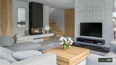Living spatios cu decor gri Appartement Design, Apartment Interior Design, Design Case, Room Colors, Living Room Decor, Sweet Home, New Homes, Lounge, Decoration