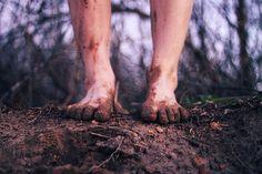 having dirt between my toes... nothing makes me feel more down home