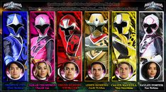 Power Rangers Ninja Steel by AndieMasterson