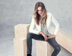 Edita Vilkeviciute | H&M Fall 2013