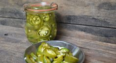 Pickled Jalapenos  If you like jalapenos, this recipe is a must! Quick and easy to make, you'll be enjoying these jalapenos in minutes.  Serves:  makes approximately 1 cup    INGREDIENTS:  7 jalapenos, sliced 2 garlic cloves, peeled and smashed 1/2 cup distilled white vinegar 1/2 cup water 2 tablespoons sugar 1 tablespoon salt  INSTRUCTIONS: Put the sliced jalapenos in a container with a lid.  In a small saucepan, bring the vinegar, water, sugar and salt to a boil. Stir to make sure the…
